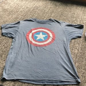 Captain America shirt large
